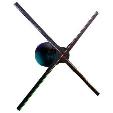 Location hélice holographique 3D Hypervsn pour animation événementielle