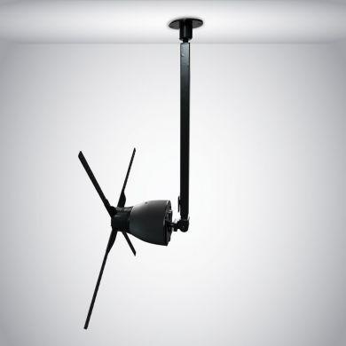 Location plafonnier holographique pour un ventilateur 3D