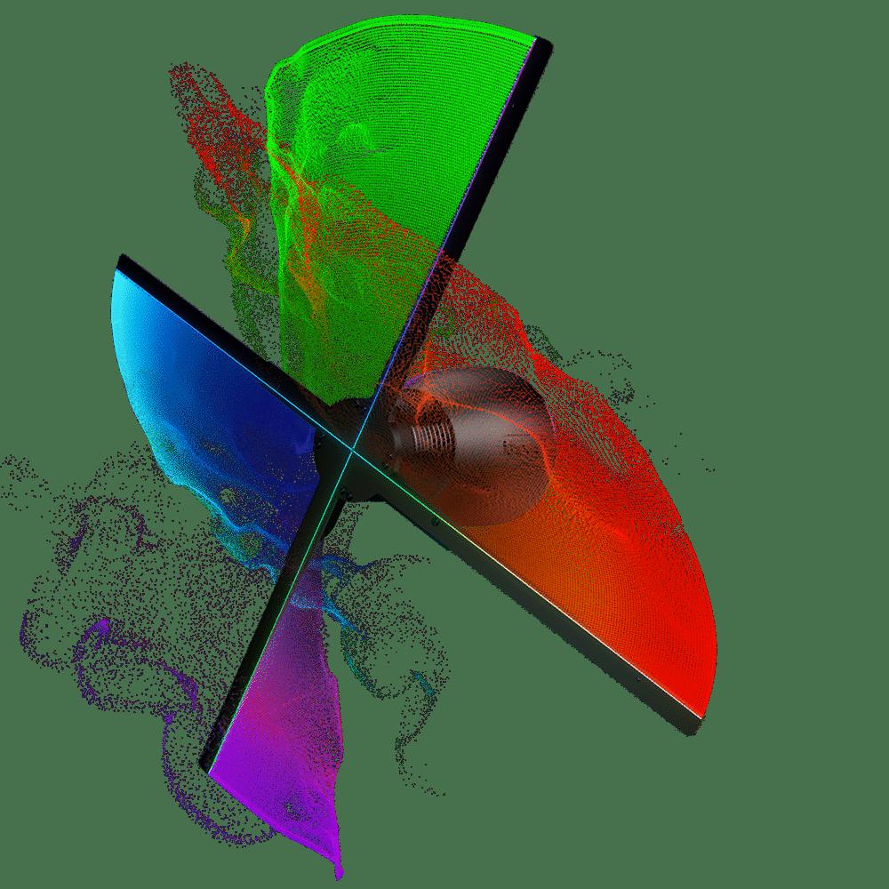 Location projecteur holographique 3D Hypervsn en lévitation
