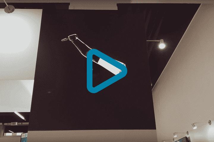 Vidéo hélice holographique 3D flottant pour Promodentaire