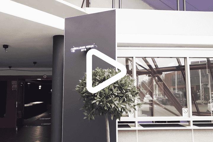 Vidéo démo ventilateur holographique 3D pour la CCI
