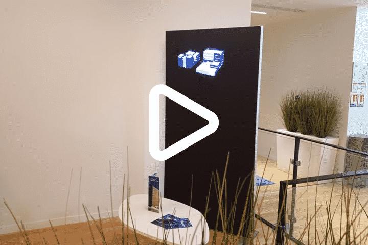 Aftermovie installation hélice holographique 3D pour Celeste