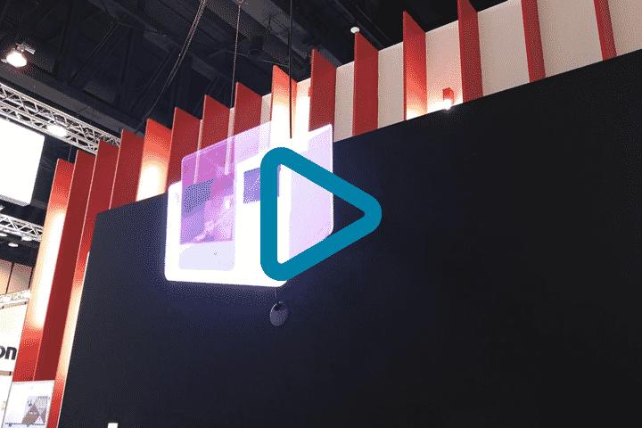 Vidéo réalisation innovante via projecteur hologramme 3D en lévitation pour Diagast